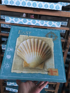Shabby Chic Square Table Wooden Block pictures & photos