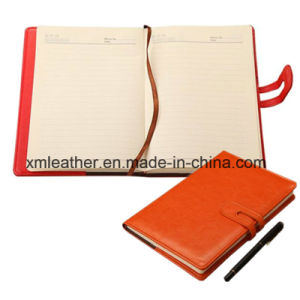 Leather Magnetic Journal Composition Notebooks pictures & photos