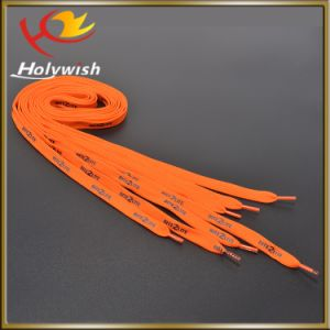 Custom Polyester Silk Printing Shoelaces for Sale pictures & photos