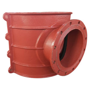Pipe Hot Tapping Saddle H600X300, Saddle, Tapping Sleeve, Saddle Clamp, Tapping Tee, Branch Saddle, Tapping Saddle for Cast Iron Pipe, Ductile Iron Pipe pictures & photos