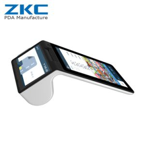 Zkc900 Dual Screen Ordering Online POS with 3G WiFi Bluetooth NFC Barcode Scnaner Printer pictures & photos