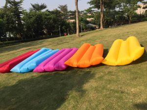 Wholesale Best Quality Hangout Inflatable Air Sofa with Nails (C324) pictures & photos