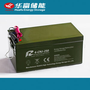 High Quality 12V250ah Rechargeable Replacement Solar Battery pictures & photos