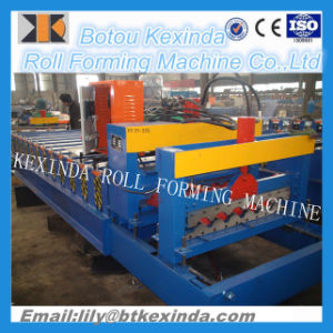 950passed Ce and ISO Authentication Glazed Tile Roll Forming Machine pictures & photos