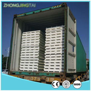 Light Weight Color Steel Corrugated EPS Roofing Sandwich Panel pictures & photos