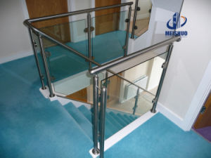 stainless Steel Glass Stair Railings & Balustrade pictures & photos