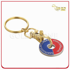 Metal Key Chain Trolley Token for Business Gift pictures & photos