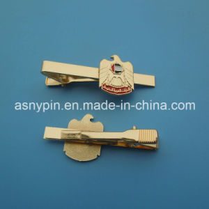 Hotsale Gold Falcon Tie Clip for Gentleman′s UAE National Day Gift pictures & photos