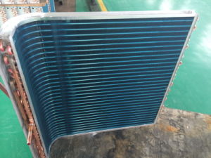 Copper Tube Fin Coil Condenser for Air Conditioner pictures & photos