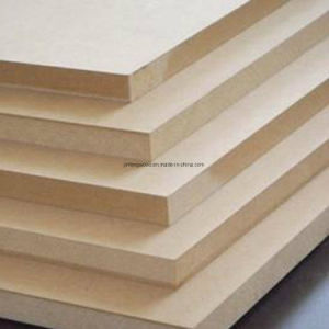 SGS Certificated Plain MDF Board with High Quality pictures & photos
