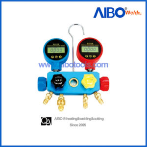 Digital Freon Manifold Gauge with Sight Glass (5H1129) pictures & photos