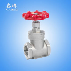 "2016 Hight Quality 304 Stainless Steel Gate Valve Dn32 1-1/4"" pictures & photos"