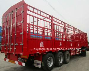 13 Meters Flatbed Van Type Semitrailer pictures & photos