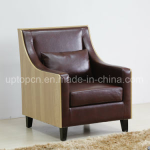 Upscale Modern Leisure Living Room Chair with Wooden Leg and Comfortable Upholstery (SP-HC580) pictures & photos