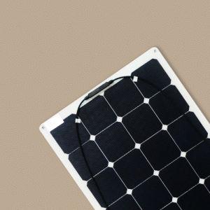 110W ETFE Material Semi Flexible Solar Panel pictures & photos