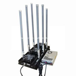 High Power Quadrocopter WiFi 2.4G RC Camera Drone Jammer 5.8g Uav Drone Jammer pictures & photos