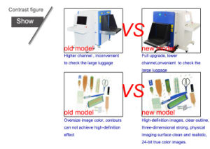 Intelligent Image Processing System X Ray Baggage Scanner pictures & photos