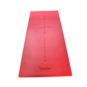 PU and Natural Tree Rubber Yoga Mat pictures & photos