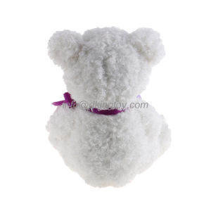 Beautiful White Plush Soft Toy Teddy Bear for Valentine Gift pictures & photos