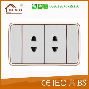 New Style 118 Double Thailand Wall Socket pictures & photos