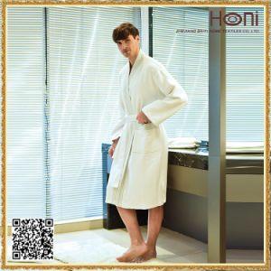 Printed Cotton Kimono Bathrobe pictures & photos