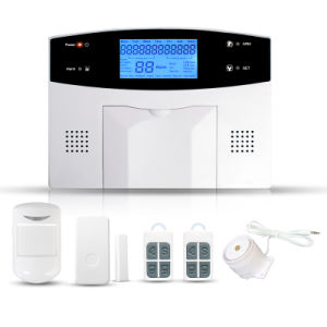 GSM+PSTN LCD Dual-Network Home Security GSM Alarm System pictures & photos