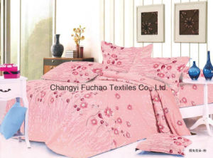 Made in China 100% Polyester Microfiber Printed Bedding Set Used for Home pictures & photos