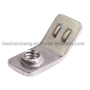 OEM Customized Precision Punching Metal Brass Ring Terminal pictures & photos