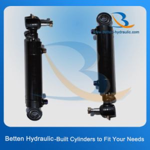 Single Acting Tractor Hydraulic Press Steering Cylinder Manufacturer pictures & photos