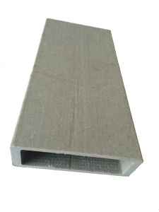 Pultruded Corrosion-Resistant Rectangular Tube FRP (GH J003) pictures & photos