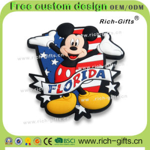 Customized Promotional Gifts Soft Rubber Fridge Magnets Souvenir Florida (RC- US)