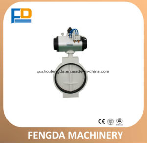 Pneumatic Butterfly Valve (TDFQ400) for Feed Conveying Machine pictures & photos