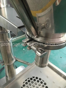 GMP Stainless Steel Fitness Powder Protein Filling Machine pictures & photos