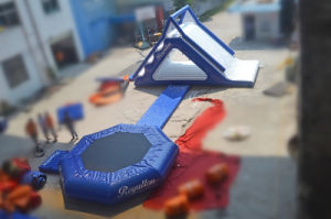 Low Price Blue Floating Inflatable Water Game Park (CHW552) pictures & photos