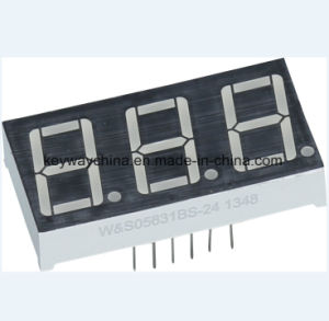 Keyway Brand Three-Digit LED Display pictures & photos