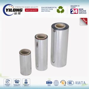 Silver Printing Cold Laminated Metallized 12 Micron Pet Film pictures & photos