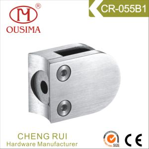 Stainless Steel Round Shape Glass Clamp Spigot for Handrail System (CR-055B) pictures & photos