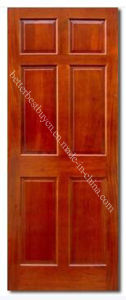 High Quality American Solid Wooden Door pictures & photos