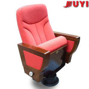 Red Conference Chair Manufactory Price 1024*690*580mm Wooden Fabric Conference Chair with Writing Tablet pictures & photos