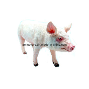 Soft Vinyl Farm Animal Pig Toy for Kids and Fun pictures & photos
