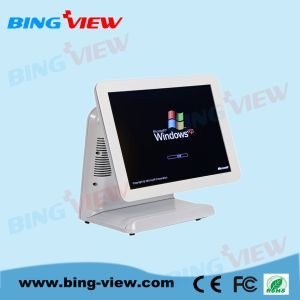 "17 ""True Flat Resistive Point of Sales/POS Touch Screen Monitor with USB/RS232 pictures & photos"