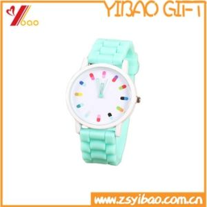 Reliable Factory Top Quality Water Resistant Wrist Bracelet Silicone Watch in China pictures & photos