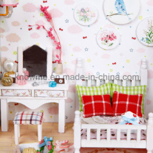 2017 Kids Educational Wooden Toy Doll House pictures & photos