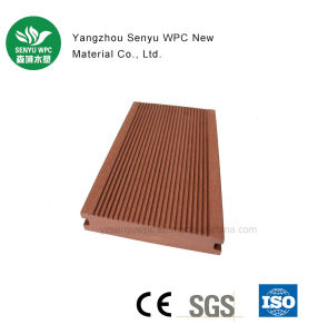WPC Solid Wood Plastic Composite Decking pictures & photos