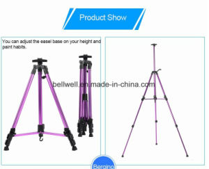 Aluminium Alloy Hand-Cranking Painting Easel pictures & photos