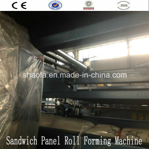 EPS and Rock Wool Sandwich Panel Machine for Africa pictures & photos