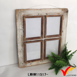 Old Rustic Carved Hang Wood Window Picture Frame pictures & photos