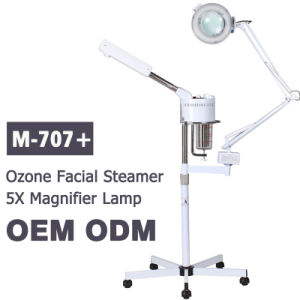 Wholesale 707+ 2 in 1 Magnifying Lamp and Ozone Facial Steamer for Sale pictures & photos