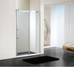 Bathroom 8mm Glass Big Roller Sliding Shower Enclosure (BN-BRSL14) pictures & photos