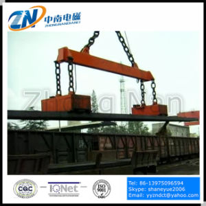 Rectangular Lifting Electromagnet for High Temperature Steel Billet Handling MW22-11065L/2 pictures & photos